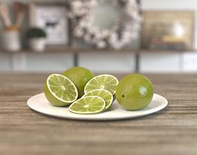 3D model Lime Fruit