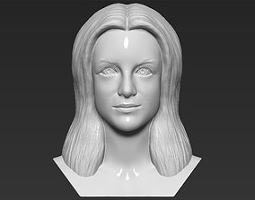 Britney Spears bust 3D printing ready stl obj formats