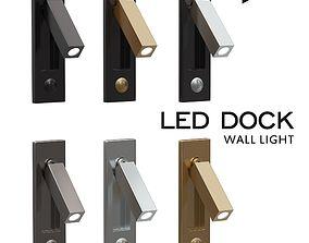 3D asset Led Dock Wall Light