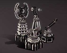 Multifunctional Tower - Modular pack 3D asset