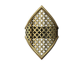 Beldi Moroccan style ring design 3D print model