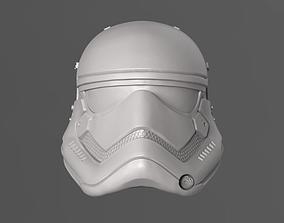 1stOrder StormTrooper Helmet Fan Art 3D print model