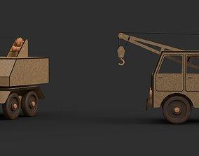 Toy truck Crane model