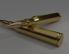 3D model military Bullet