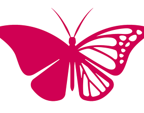 3D print model butterfly