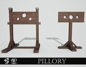 3D asset Medieval Pillory