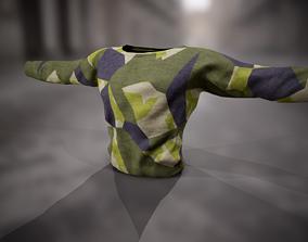 3D model Sweatshirt 15