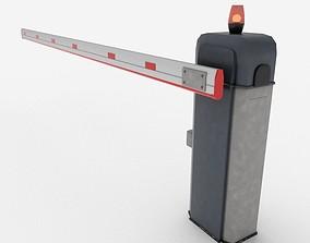 3D asset PBR Barrier