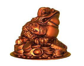 Golden Toad4 3D print model