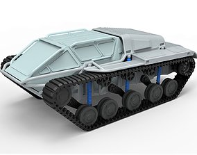 Diecast model Tracked vehicle Scale 1 to 24 allterrain