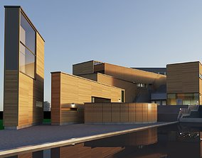 nordic highschool library 3D