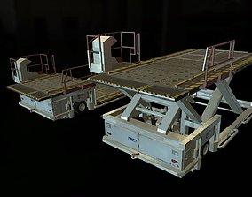 3D model Airport Cargo Loader