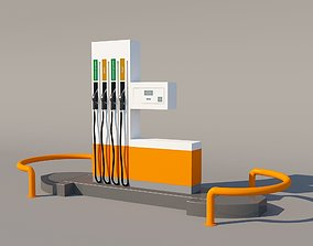 industrial 3D Fuel Dispenser