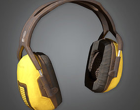 TLS - Working Ear Protectors - PBR Game Ready 3D asset
