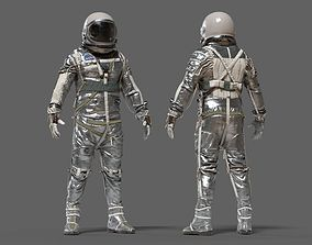 3D SPACESUIT NASA Mercury Navy Mark IV