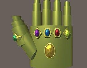 Infinity Gauntlet 3D asset