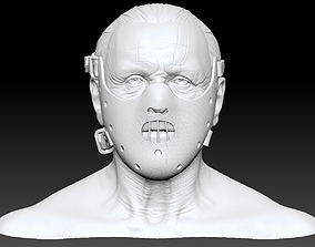 Hannibal Lecter Anthony Hopkins With and Without Mask 1