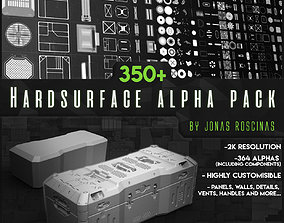 350 Hardsurface Alpha Pack 3D model