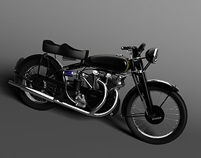 3D model Vincent Black Shadow 1954