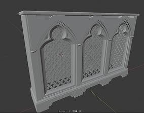 Gothic Radiator Cover 3D print model