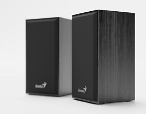 3D asset Speakers Genius