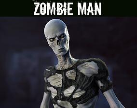 Zombie Man 3D asset