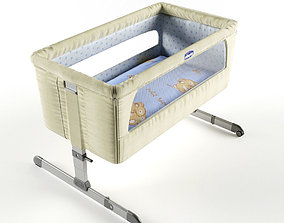 CHICCO NEXT 2 ME BEDSIDE CRIB 3D model