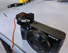 Sony RX100 shuter servo 3D print model