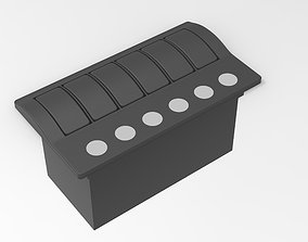 3D Marine Switch Panel 6