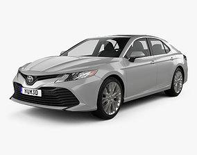 Toyota Camry XLE hybrid 2017 3D model