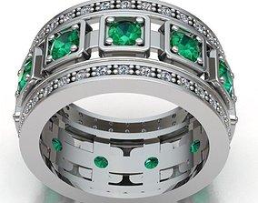 women band ring REF-81 bridal 3D printable model