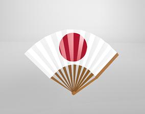 3D model Paper Fan v1 009