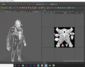 Venom 3D model low-poly