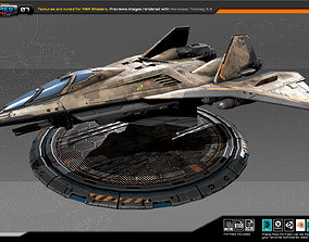 RTS Heavy fighter - 07 3D model