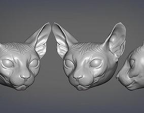 Sphinx 3D print model statue