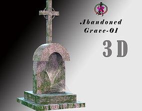 Abandoned Grave-01 3D asset