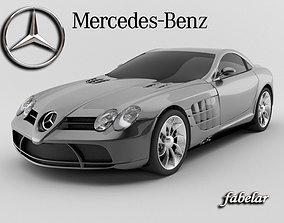 Mercedes SLR 3D