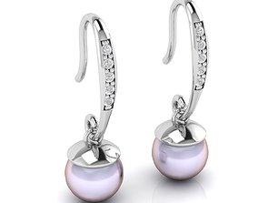 3D print model Unique Pearl Earring