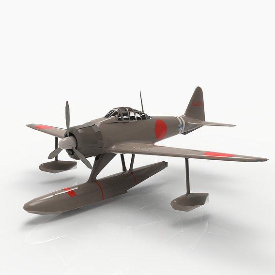 Float Plane Fighter - Japanese Nakajima A6M2-N