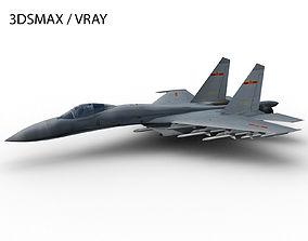 3D asset J-11 SHENYANG