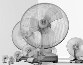 3D asset Fan with animation