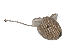 3D model Cat mouse toy