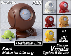 VMATS Food Material Library for Blender Cycles and 3D 1