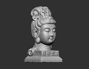 ancient Buddha Head 3D print model