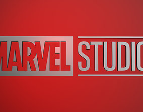 3D model Marvel Studios Logo - Low-poly and High-poly