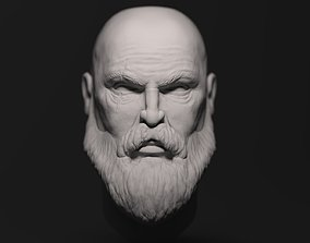 Kratos Head 3D Model