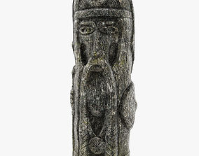 3D asset Celtic Idol 03