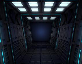 Sci Fi Interior 3D architecture