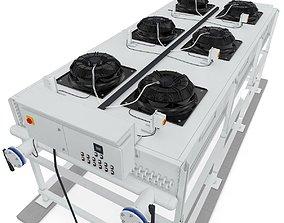 Industrial Radiator Chiller Cooler 3D model