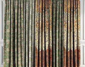 3D model Curtain Set 68